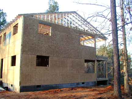 Doug robinson house framing roof for House framing 101